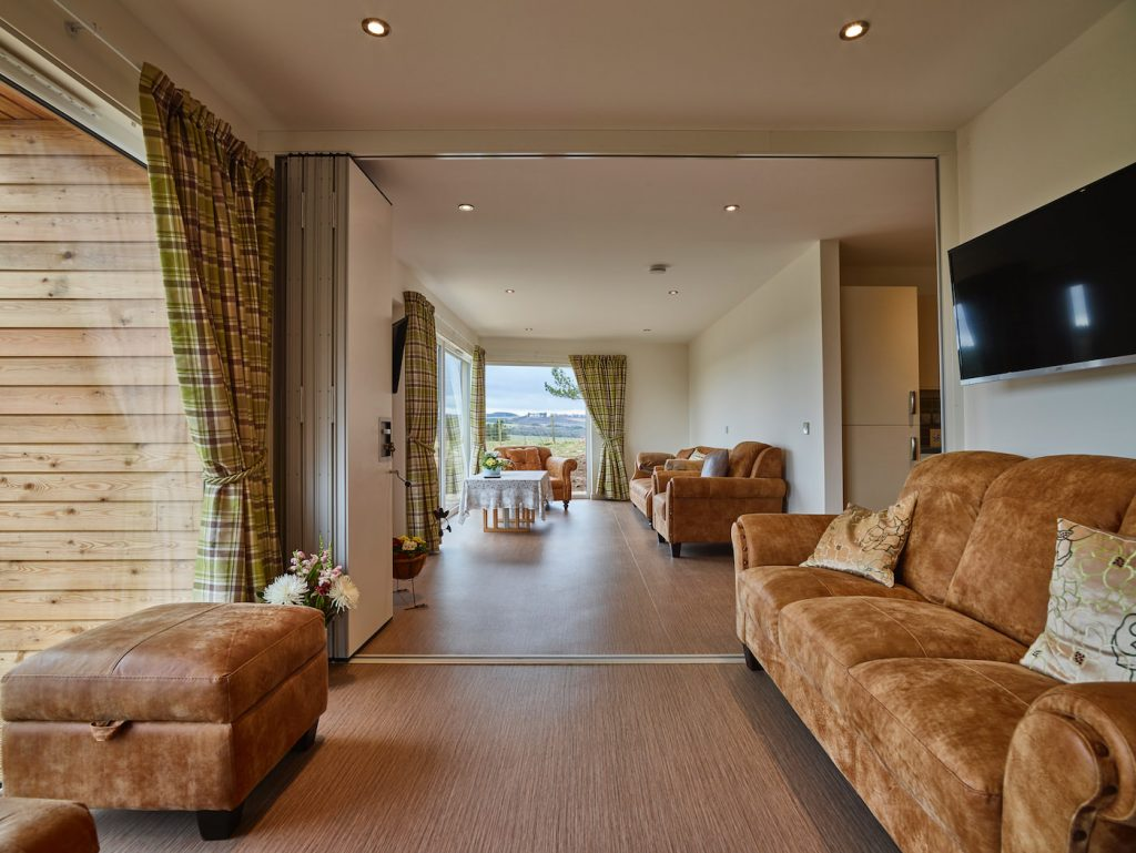 Henderson and Machray lounge open plan view