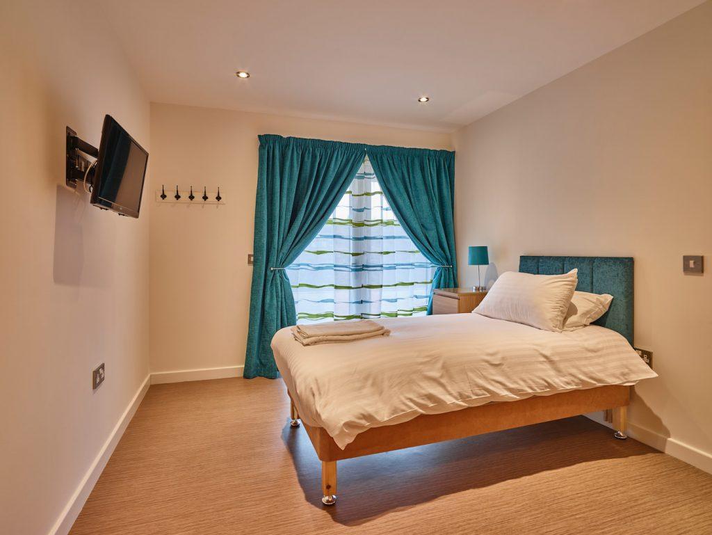 Acquamarine bedroom